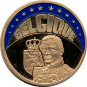 Belgium ECU Leopold I 1997 UNC BELGIQUE coin obverse