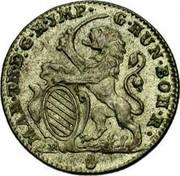 Belgium Escalin 1752 (h) R KM# 15 Standart Coinage MAR TH D G R JMP G HUN BOH R coin obverse
