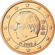 Belgium Euro Cent 2008 KM# 274 European Union Issues coin obverse