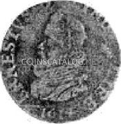 Belgium Liard 1614 KM# 15 Country Standart Coinage coin obverse