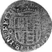 Belgium Liard 1614 KM# 15 Country Standart Coinage coin reverse