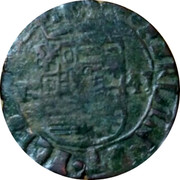 Belgium Liard 1641 KM# 20 Country Standart Coinage coin reverse