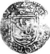 Belgium Liard 1657 KM# 81 Country Standart Coinage coin reverse