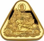 Australia One Hundred Dollars (Australian Shipwreck Zuytdorp) ELIZABETH II AUSTRALIA 2020 ONE HUNDRED DOLLARS coin obverse