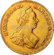 Belgium Souverain D'or 1772 (w) IC-SK KM# 27 Trade Coinage coin obverse