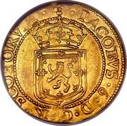 UK Sword & Sceptre 1601 KM# 20 Scotland IACOBVS 6 D G R SCOTORVM coin obverse