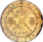 UK Sword & Sceptre 1601 KM# 20 Scotland SALVS POPVLI SVPREMA LEX coin reverse