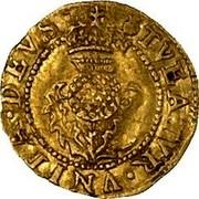 UK Thistle Crown ND KM# 25 Scotland TVEATVR VNITA DEVS coin reverse