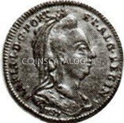 Portugal 1/2 Escudo (800 Reis) 1787 KM# 293 Kingdom Milled coinage coin obverse