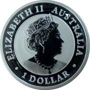 Australia 1 Dollar Kookaburra. Pig Privy Mark 2019 AUSTRALIAN KOOKABURRA P AH 2019 1 OZ 9999 SILVER coin obverse