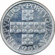 Portugal 10 Centavos 1969 KM# 594 Republic coin obverse