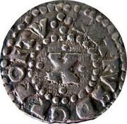Portugal 10 Reis (1/2 Vinten) Pedro Prince Regent 1663 KM# 98 PETRVS D G R PORTV .X. coin obverse