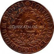 Portugal 10 Reis 1796 KM# 5 Prortuguese Administration Provincial coinage coin reverse