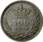 Portugal 100 Reis 1910 KM# 548 Kingdom Decimal coinage coin reverse