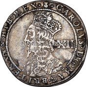 UK 12 Shillings (Charles I (3rd Coinage, 5th Issue)) KM# 86.1 · CAROLVS · D · G · MAG · BRIT · FRAN · & · HIB · REX · coin obverse