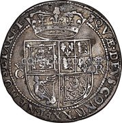 UK 12 Shillings (Charles I (3rd Coinage, 5th Issue)) KM# 86.1 QVÆ · DEVS · CONIVNXIT · NEMO · SEPARET · coin reverse