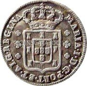 Portugal 120 Reis (6 Vintens) ND KM# 286 Kingdom Milled coinage coin obverse