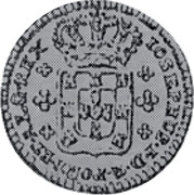 Portugal 120 Reis (6 Vintens) ND KM# 239.2 Kingdom Milled coinage coin obverse