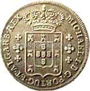 Portugal 120 Reis (6 Vintens) ND KM# 385 Kingdom Milled coinage coin obverse