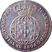 Portugal 120 Reis (6 Vintens) ND KM# 353 Kingdom Milled coinage coin obverse