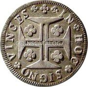 Portugal 120 Reis (6 Vintens) ND KM# 286 Kingdom Milled coinage coin reverse