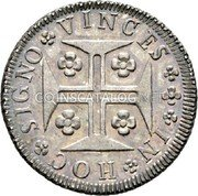 Portugal 120 Reis (6 Vintens) ND KM# 266 Kingdom Milled coinage coin reverse