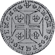 Portugal 120 Reis (6 Vintens) ND KM# 239.2 Kingdom Milled coinage coin reverse