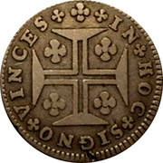 Portugal 120 Reis (6 Vintens) ND KM# 239.1 Kingdom Milled coinage coin reverse
