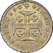 Portugal 120 Reis (6 Vintens) ND KM# 317 Kingdom Milled coinage coin reverse