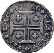 Portugal 120 Reis (6 Vintens) ND KM# 316 Kingdom Milled coinage coin reverse