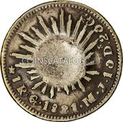 Portugal 120 Reis ND KM# 24.1 Portuguese Administration Countermarked coinage (1887 Decree) coin reverse