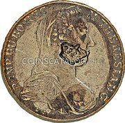 Portugal 1200 Reis ND KM# 21.1 Portuguese Administration Countermarked coinage (1871 Decree) coin obverse