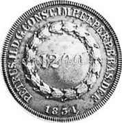 Portugal 1200 Reis ND KM# 21.4 Portuguese Administration Countermarked coinage (1871 Decree) coin reverse