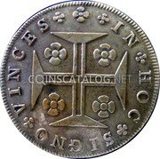Portugal 150 Reis 1794 KM# 7 Prortuguese Administration Provincial coinage coin reverse
