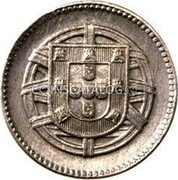 Portugal 2 Centavos 1918 Most lower grades have oxidation and will sell for less KM# 567 Republic coin reverse