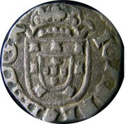 Portugal 20 Reis Joao IV ND KM# 31 IOANNES III D G R coin obverse