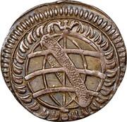 Portugal 20 Reis Pedro II 1688 P KM# 133 coin obverse