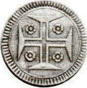 Portugal 20 Reis (Vinten) ND KM# 330 Kingdom Milled coinage coin reverse