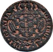 Portugal 3 Reis 1751 KM# 241.2 Kingdom Milled coinage IOSEPHUS I DEI GRATIA coin obverse