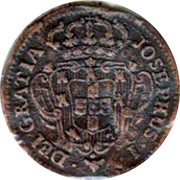 Portugal 3 Reis 1764 KM# 241.1 Kingdom Milled coinage JOSEPHUS I DEI GRATIA coin obverse