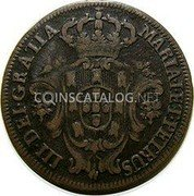 Portugal 3 Reis (III) 1777 KM# 260 Kingdom Milled coinage coin obverse