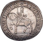 UK 30 Shillings (Charles I (3rd Coinage, 1st Issue)) KM# 88.1 CAROLVS · D : G · MAGN · BRITAN · FRAN · ET · HIB · REX · coin obverse