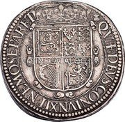 UK 30 Shillings (Charles I (3rd Coinage, 1st Issue)) KM# 88.1 QVÆ · DEVS : CONIVNXIT · NEMO SEPARET coin reverse