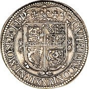 UK 30 Shillings (Charles I (3rd Coinage, 5th Issue)) KM# 88.2a · QVÆ · DEVS : CONIVNXIT · NEMO · SEPARET · coin reverse