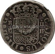 Portugal 300 Reis ND KM# 25.1 Portuguese Administration Countermarked coinage (1887 Decree) coin reverse