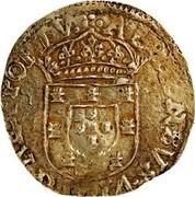 Portugal 4 Cruzados Afonso VI 1660 KM# 81 ALPHONSVS · VI · D · G · REX · PORTV coin obverse