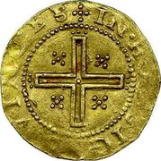 Portugal 4 Cruzados ND L KM# 9.1 Kingdom Dump coinage coin reverse