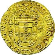 Portugal 4 Cruzados ND LB KM# 9.2 Kingdom Dump coinage PHILIPPVS D G REX PORTVGALIA coin obverse