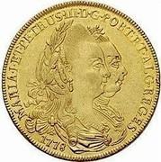 Portugal 4 Escudos (Peca) 1778 KM# 271 Kingdom Milled coinage coin obverse