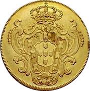 Portugal 4 Escudos (Peca) 1778 KM# 271 Kingdom Milled coinage coin reverse